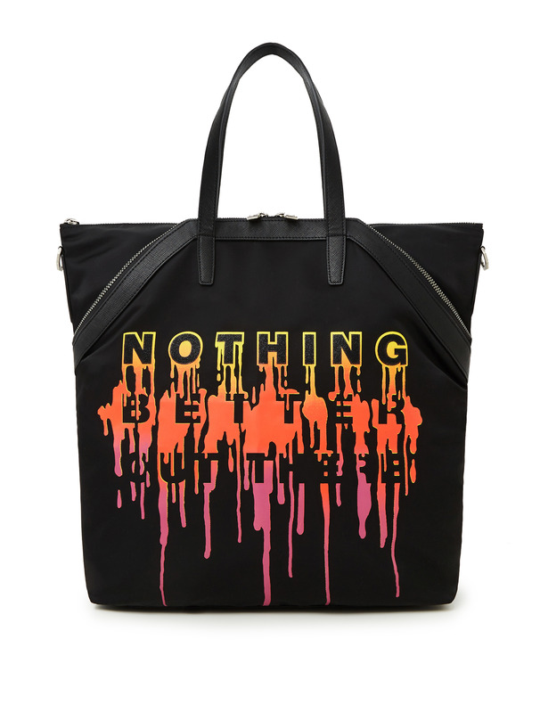 [NONA9ON] NOTHING EMBROIDERY TOTE BAG