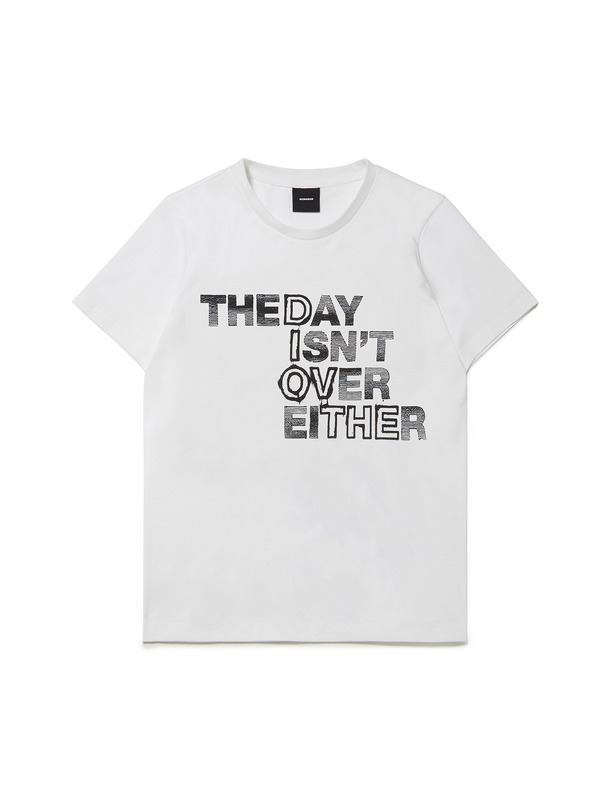 [NONA9ON] THE DAY GRAPHIC T-SHIRT