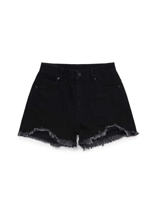 [NONAGON] BARBWIRE ROMAN 9 DENIM SHORTS