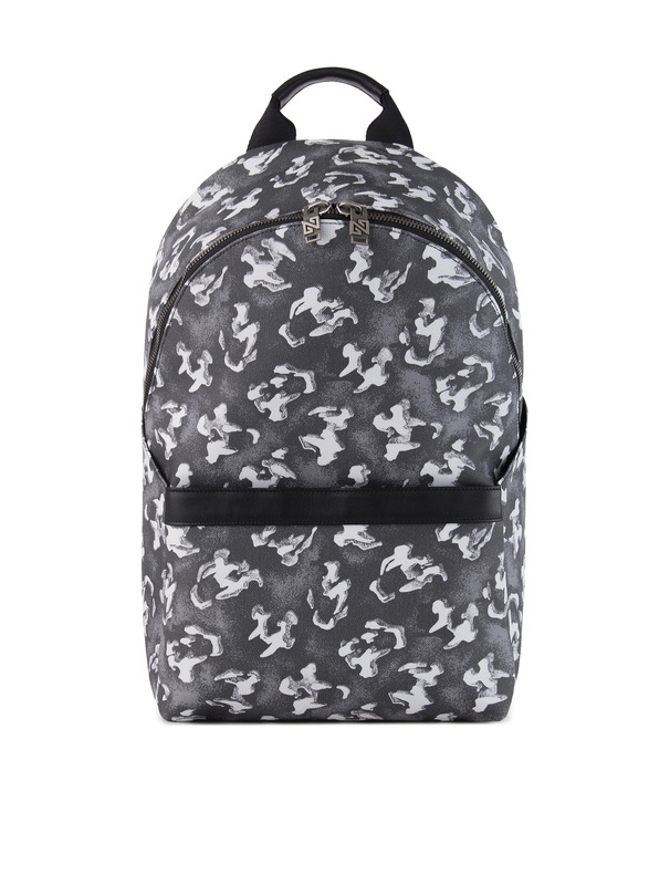[NONA9ON] TIGER SKULL MONOGRAM BACKPACK