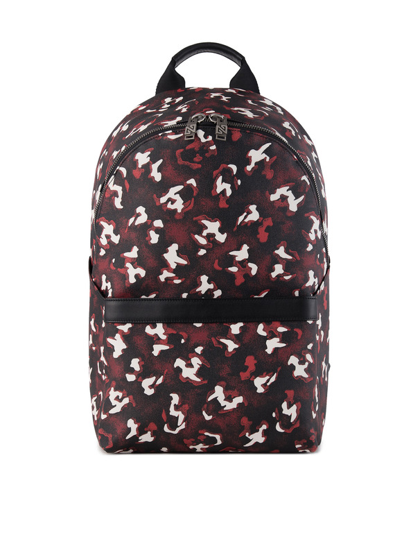 [NONAGON] TIGER SKULL MONOGRAM BACKPACK