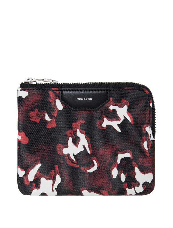 [NONA9ON] TIGER SKULL MONOGRAM POUCH