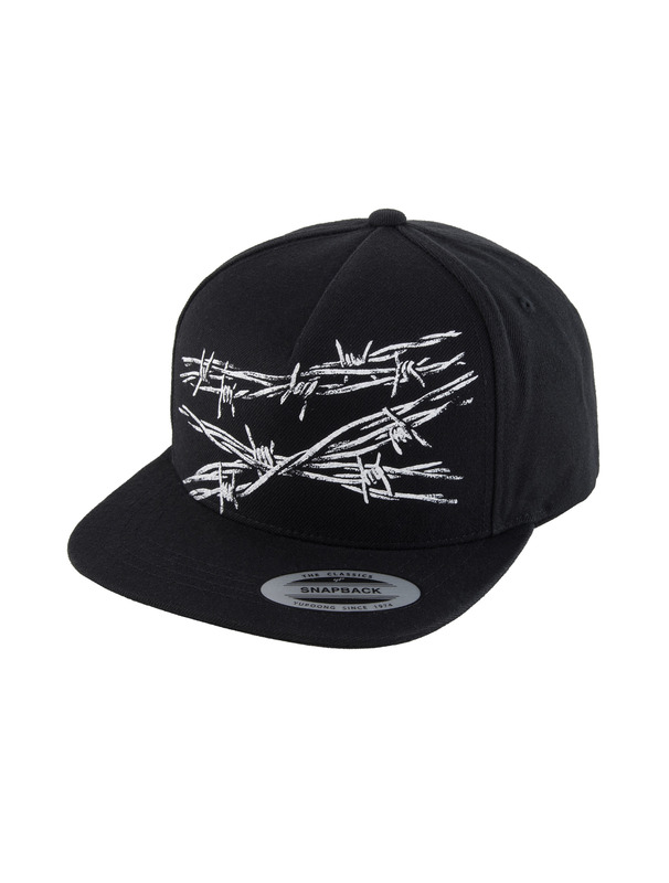 [NONA9ON] BARBWIRE ROMAN 9 SNAPBACK