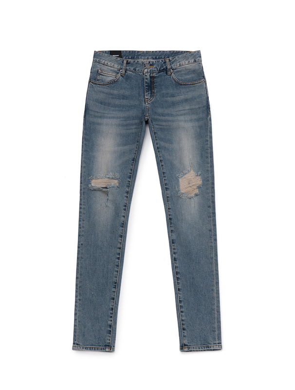 [NONAGON] BARBWIRE ROMAN 9 DISTRESSED JEANS