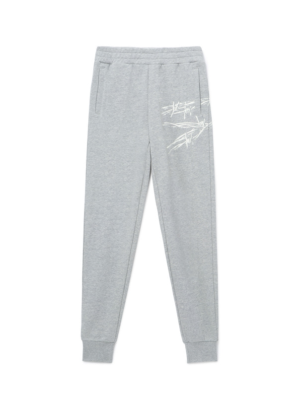[NONA9ON] BARBWIRE ROMAN 9 SWEATPANTS