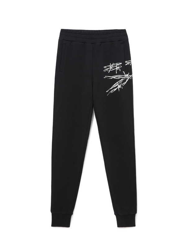 [NONAGON] BARBWIRE ROMAN 9 SWEATPANTS