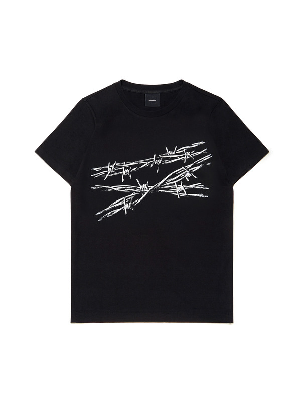 [NONAGON] BARBWIRE ROMAN 9 T-SHIRT