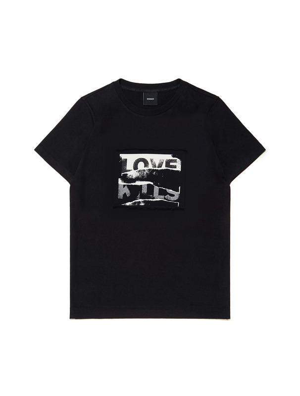 "[NONAGON] ""LOVE KILLS"" GRAPHIC T-SHIRT"