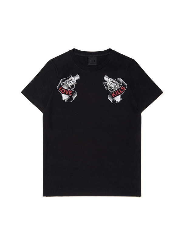 [NONA9ON] PISTOL GRAPHIC T-SHIRT
