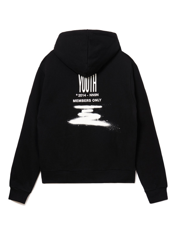 [NONAGON] YOUTH ZIP-UP HOODIE