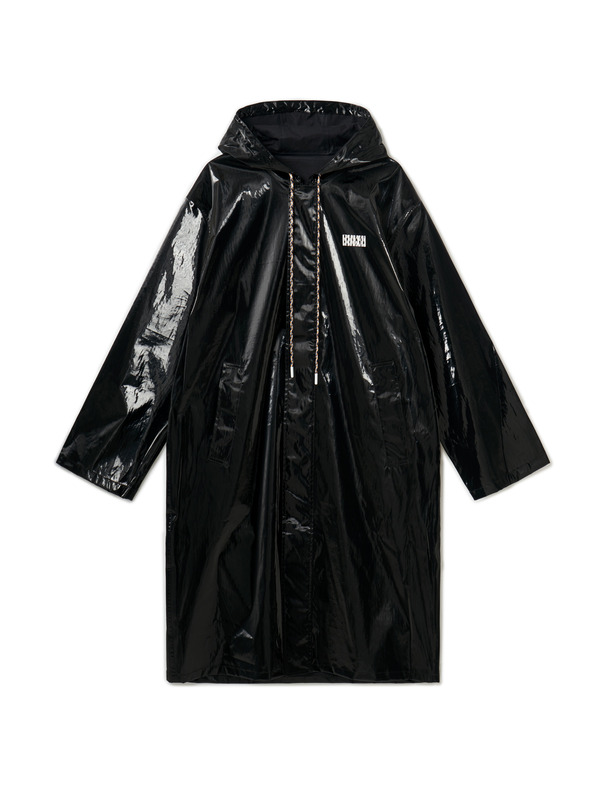 [NONAGON] SYNTHETIC OVERSIZED RAINCOAT