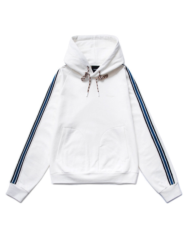 [NONA9ON] STRIPED TAPE HOODIE