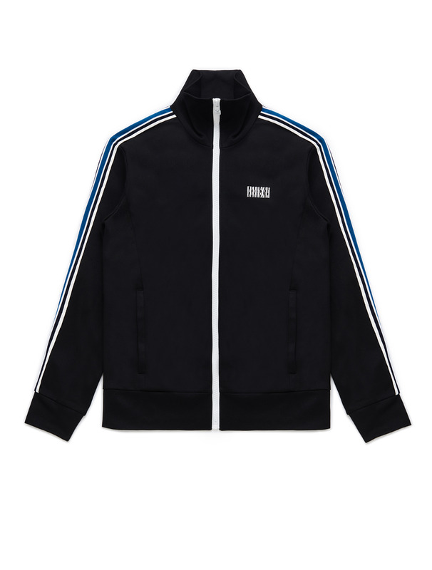 [NONAGON] STRIPED TAPE TRACK JACKET
