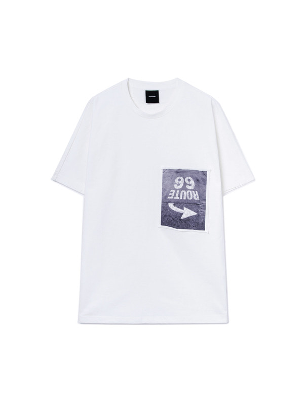 [NONAGON] 99 ROUTE GRAPHIC T-SHIRT