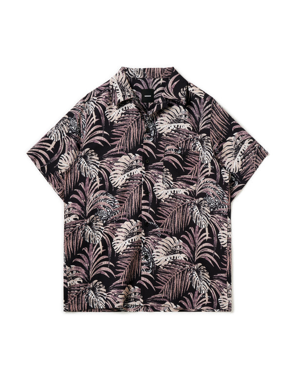[NONAGON] TROPICAL HAWAIIAN SHIRT