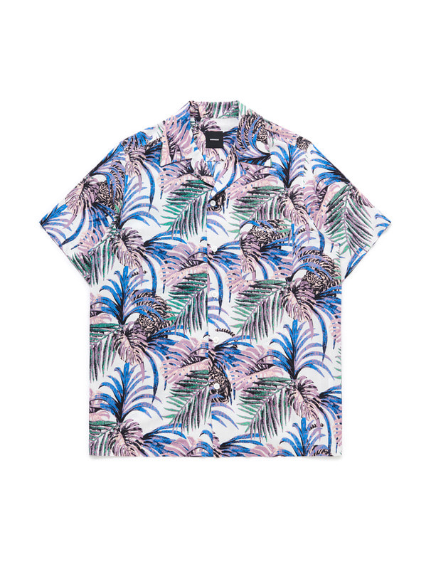 [NONA9ON] TROPICAL HAWAIIAN SHIRT