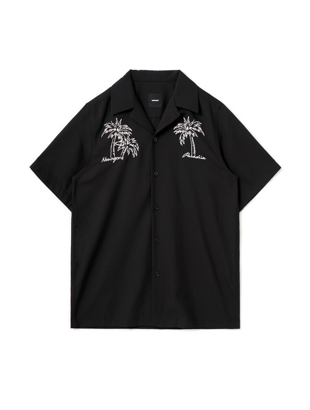 [NONAGON] PALM TREE HAWAIIAN SHIRT