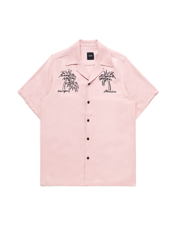 [NONA9ON] PALM TREE HAWAIIAN SHIRT