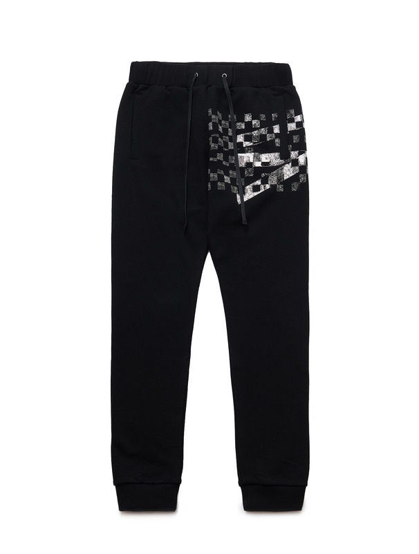 [NONAGON] CHECKERBOARD ROMAN 9 SWEATPANTS