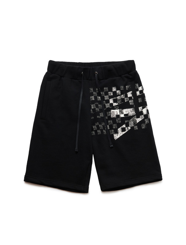 [NONAGON] CHECKERBOARD ROMAN 9 SHORTS