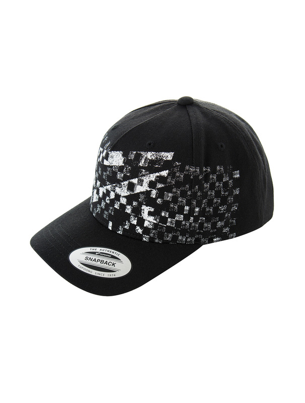 [NONA9ON] CHECKERBOARD ROMAN 9 SNAPBACK