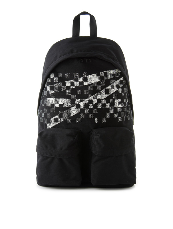 [NONAGON] CHECKERBOARD ROMAN 9 BACKPACK