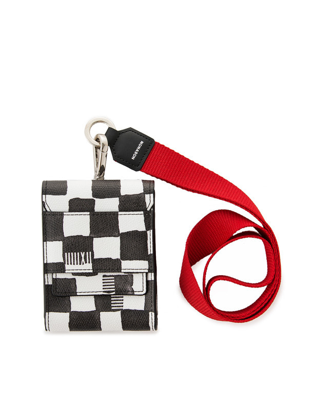 [NONAGON] CHECKERBOARD CIGARETTE CASE