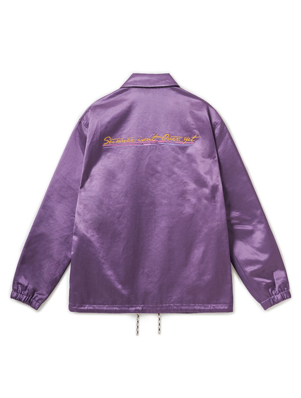 [NONAGON] LETTERING EMBROIDERERY COACH JACKET