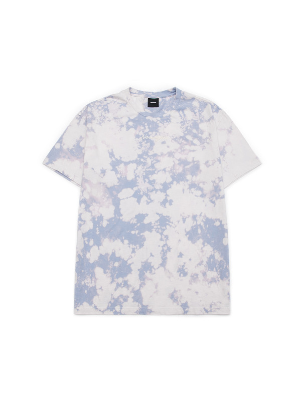 [NONAGON] BLEACH DYED T-SHIRT
