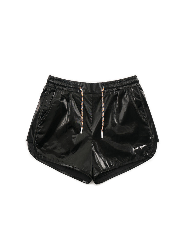 [NONAGON] SYNTHETIC SHORTS