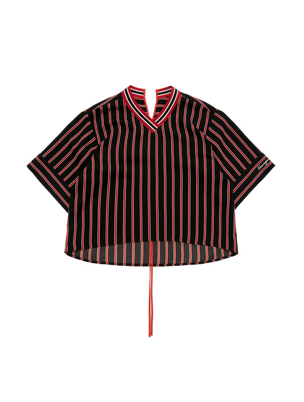 [NONAGON] STRIPE TOP