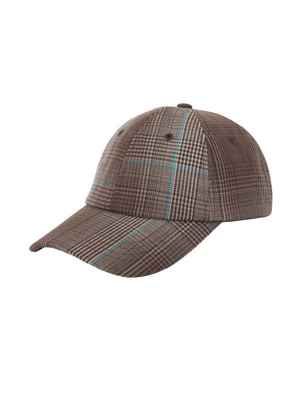 [NONAGON] CHECKED BALLCAP