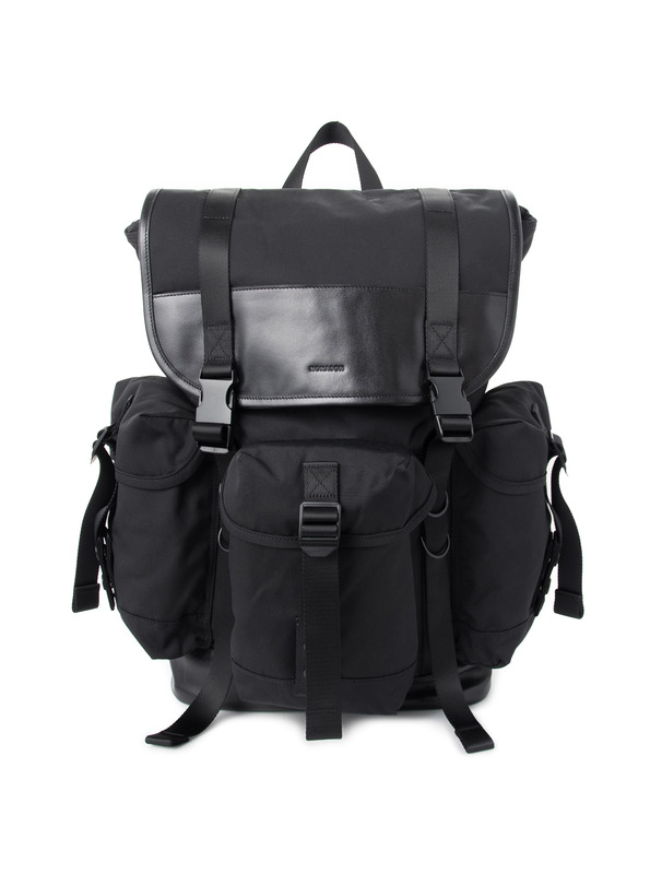 [NONAGON] NYLON TRHEE POCKET BACKPACK