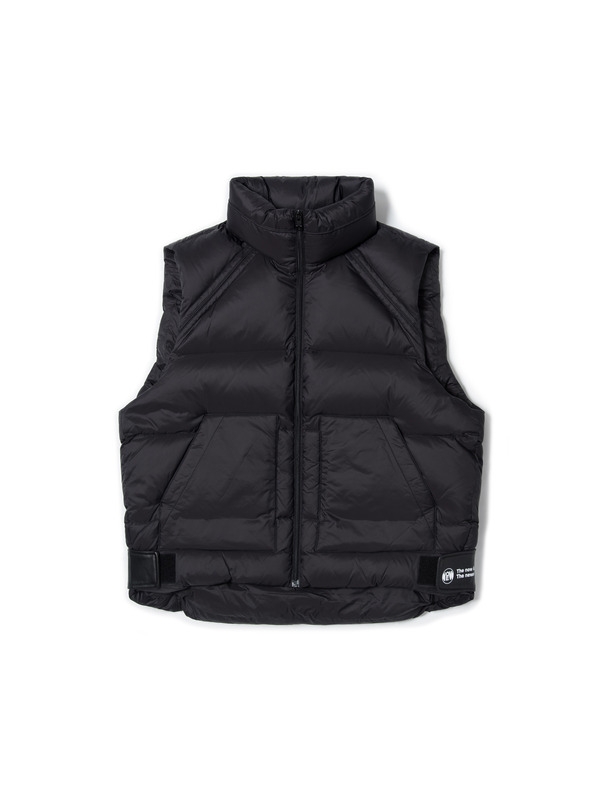 [NONAGON] OVERSIZED QUILTED DOWN VEST