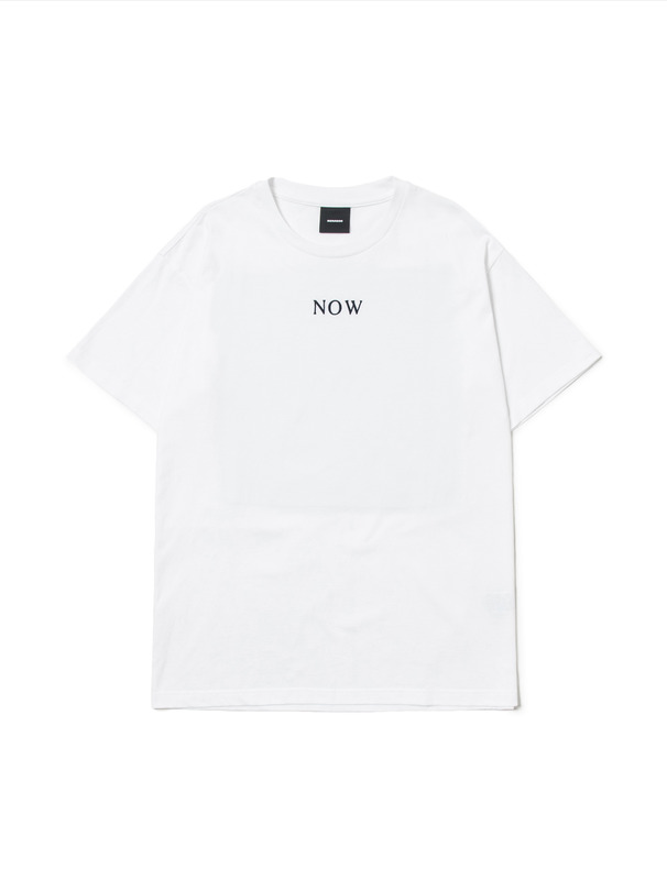 [NONAGON] JACQUARD APPLIQUE T-SHIRT