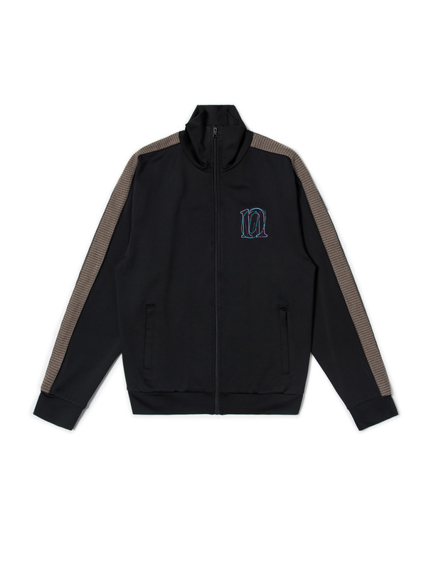 [NONAGON] EMBROIDERED TRACK JACKET