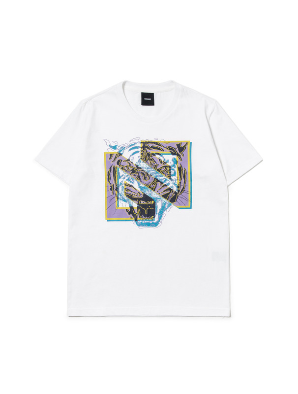 [NONAGON] N TIGER GRAPHIC T-SHIRT