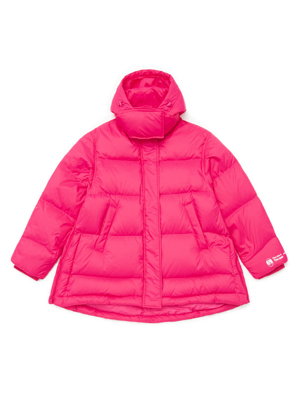 [PRE-ORDER] A-LINE HOODED DOWN JACKET