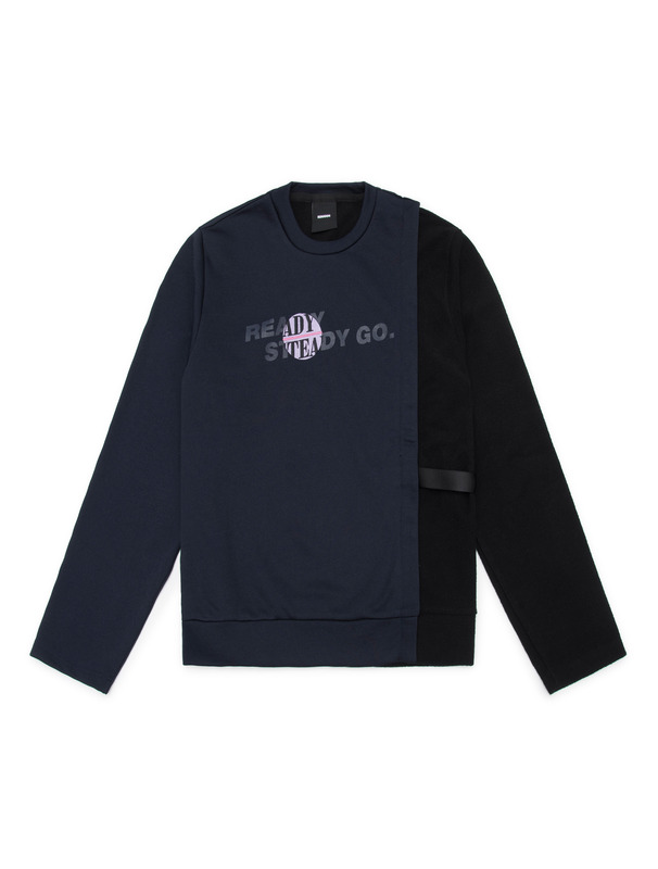 [NONAGON] DETACHABLE ARM SWEATSHIRT