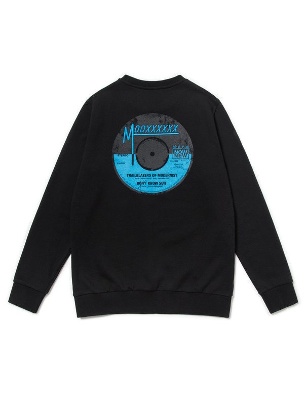 [NONAGON] RECORD GRAPHIC SWEATSHIRT