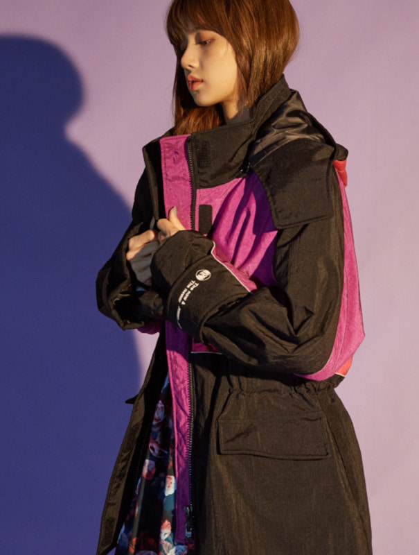 [NONAGON] HOODED ANORAK PARKA